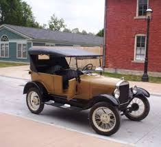 ford automobiles history