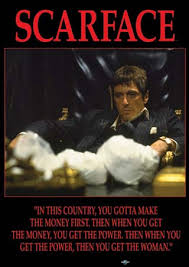 al pacino scarface posters