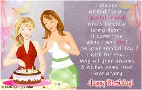 birthday card friend