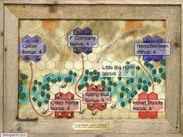 little big horn battle map