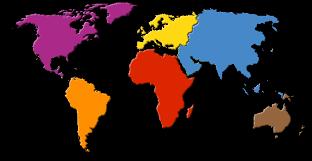 mapa planeta