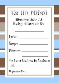 invitaciones de baby showers