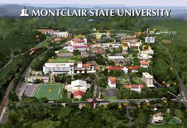 montclair state university map