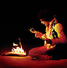 Jimi Hendrix - In Flame