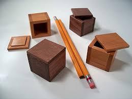 mini wooden boxes
