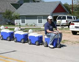 gas powered coolers