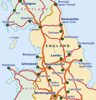 england road map