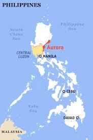 aurora province map