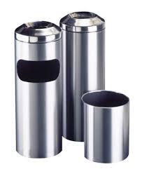 galvanised bins