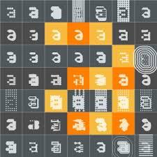 robot fonts