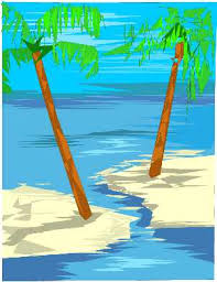clipart of palm trees