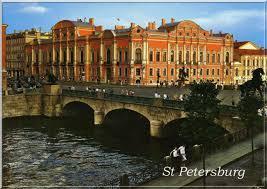 russian post card