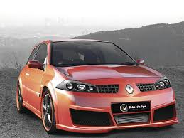 body kit renault megane