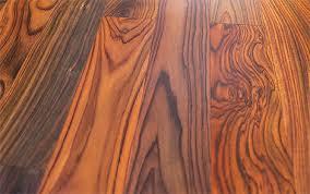 polished wooden floors