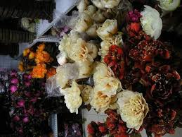 silk flower decorations