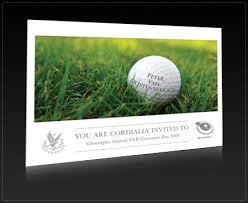 golf day invitations