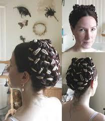 beaded hair pieces