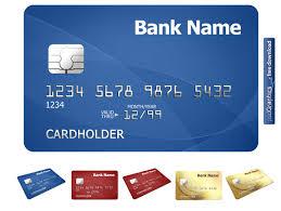 credit card blue