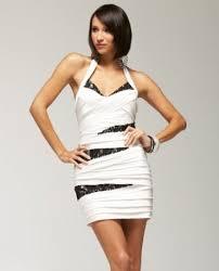bebe banded dress