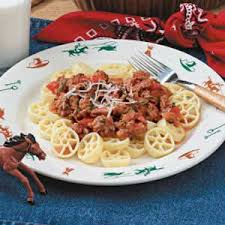 wagon wheels pasta