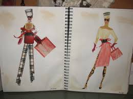 fashion designing drawing