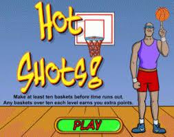 hot shot basketball game