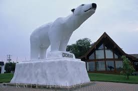 polar bear statues