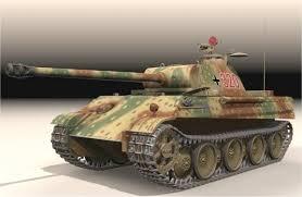 panther tank models