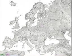 mapas mudos de europa