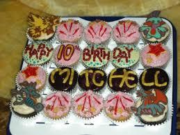 birthday cupcake decorating