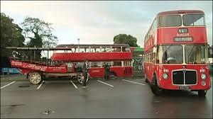 Ilustrasi: Bus di Nottingham