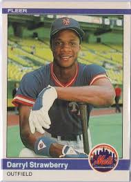 darryl strawberry baseball cards