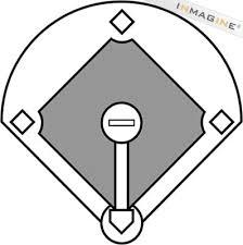 baseball diamond graphic