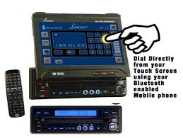 dual touch screen cd player