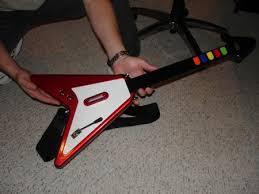 real guitar hero controller