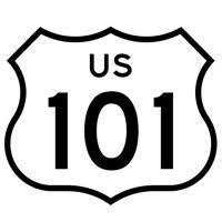 highway 101 sign