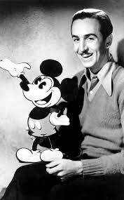 mickey mouse and walt disney