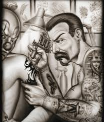 mr cartoon tattoo designs