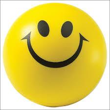 smiley face ball