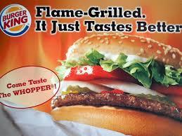 burger king whopper commercial