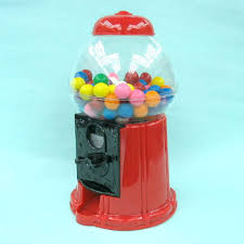 plastic gumball machines