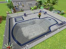 built in pools