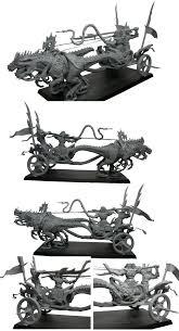 high elf chariot