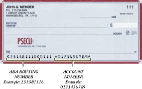 aba routing number