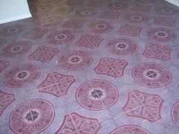 pink floor tile