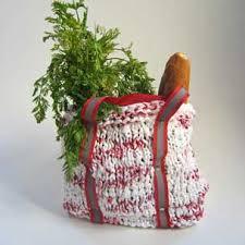 plastic bag knitting