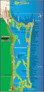 cancun hotel map 2009