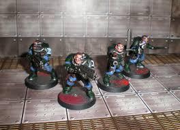 blue marines