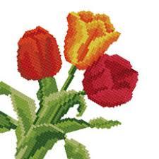 flower cross stitch patterns