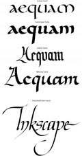 cursiva inglesa